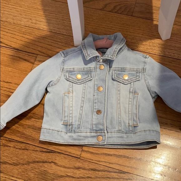 Janie and Jack jean jacket 6-12 months